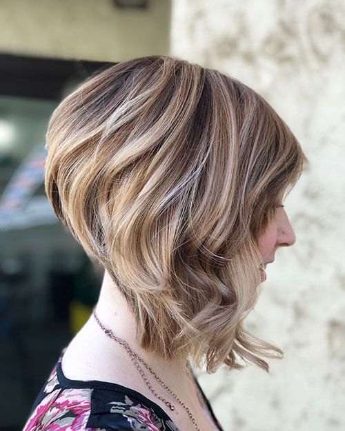 Latest Short Hairstyles For Thick Hair