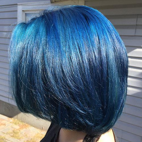 Short Blue Haircuts