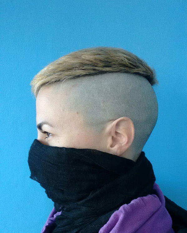 Cool Short Shaved Hairstyles
