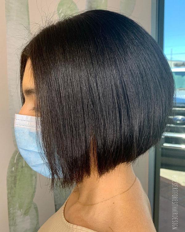Short Dark Hair