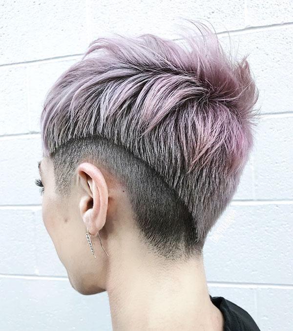 Short Shaved Haircut Ideas