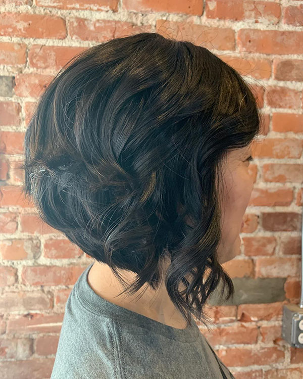 Short Haircuts For Dark Hair