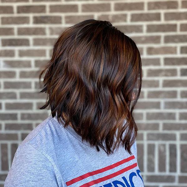 Dark Hair Ideas For Short Hair