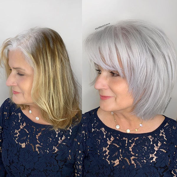 Best Short Haircuts For Over 50