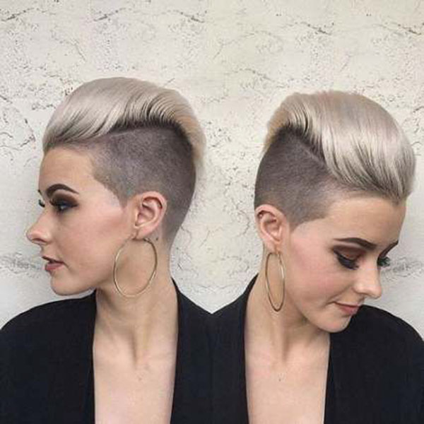 Short Hair Shaved Designs