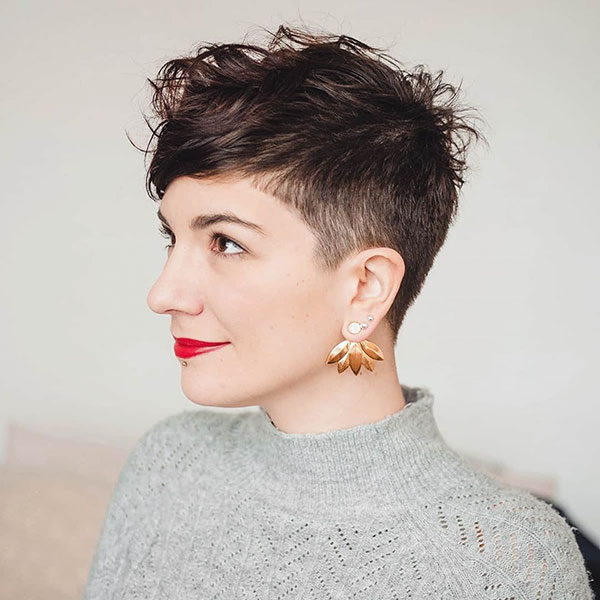 Examples Of Short Shaved Hairstyles