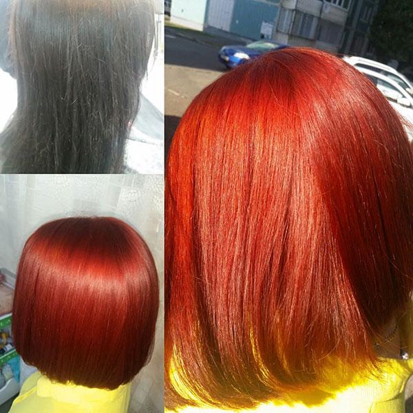 Hairstyles For Short Rainbow Hair