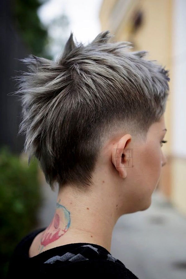 Short Mohawk Hairstyles For Girls