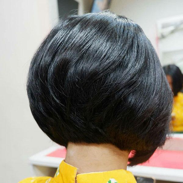 Super Short Dark Hair