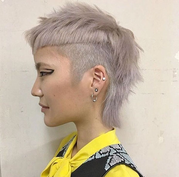 Images Of Short Mohawk Hairstyles