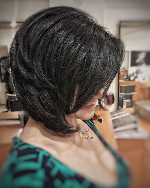 Short Dark Hair Images