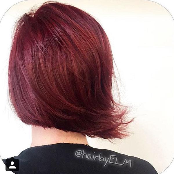 Rainbow Hair And Short Hair