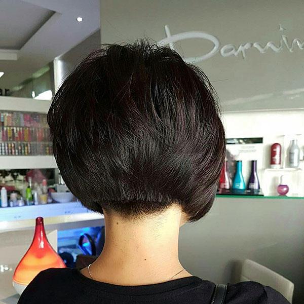 Short Dark Hair Ideas