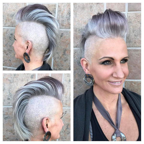 Short Mohawk Hair Ideas