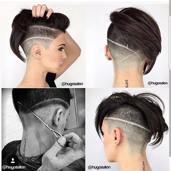 Short And Mohawk Hair