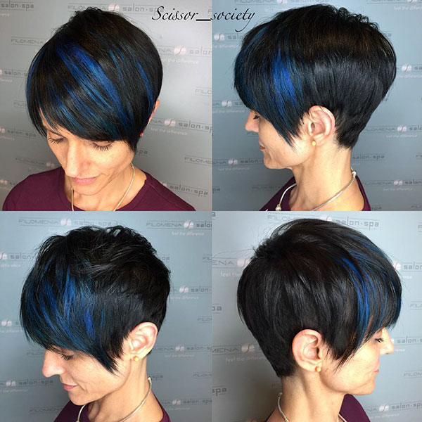 Short Hairstyles For Dark Hair