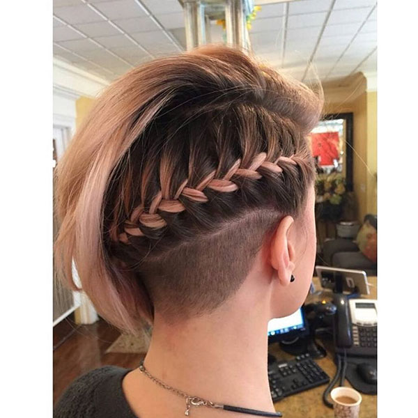 Pictures Of Short Braids