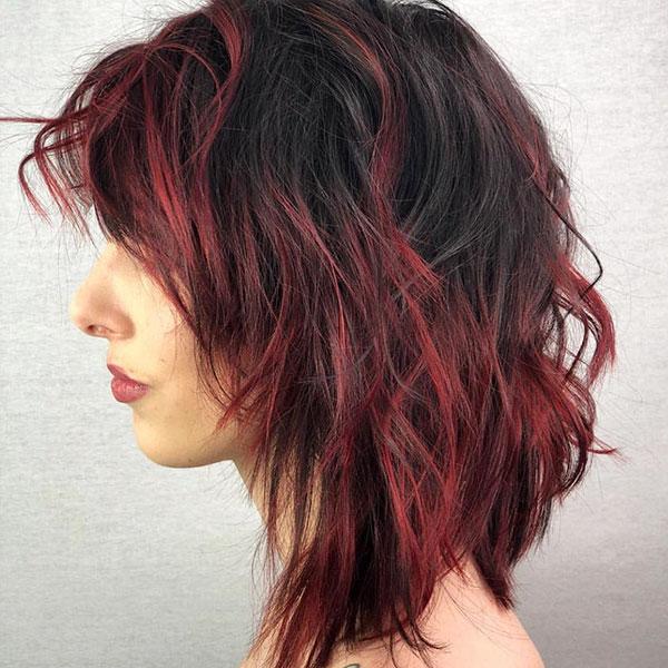 Rainbow Short Hair