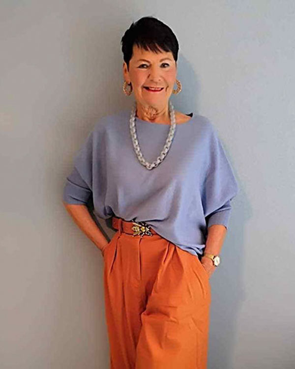 Hairstyles For Short Hair Women Over 60