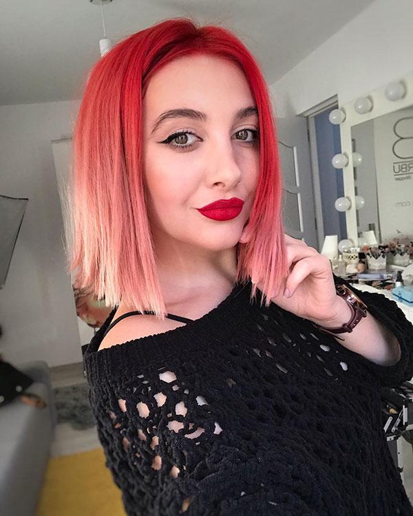 Super Short Rainbow Hair