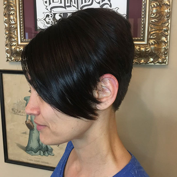Dark Hair Color For Short Hair