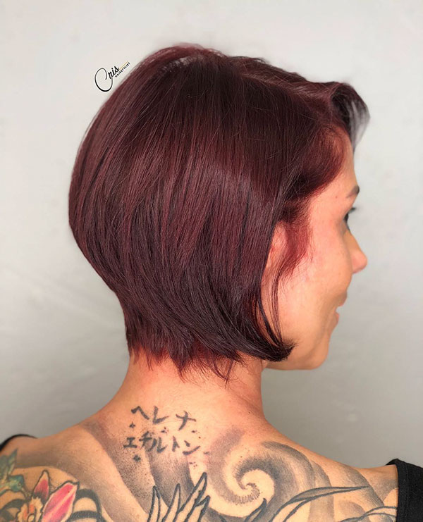 Images Of Short Modern Hairstyles
