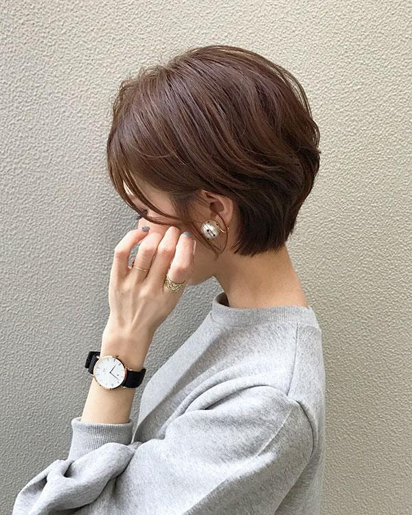 Short Haircuts For Asian Hair