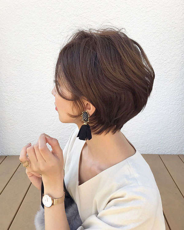 2021 short hair style