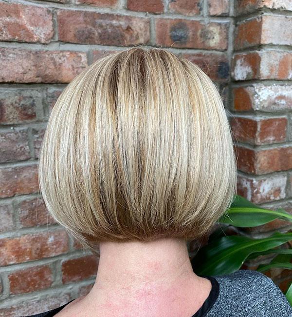 bob hair cut female