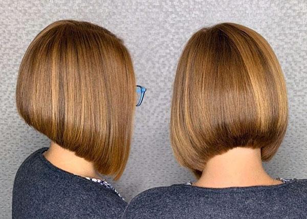 bob short hair cut