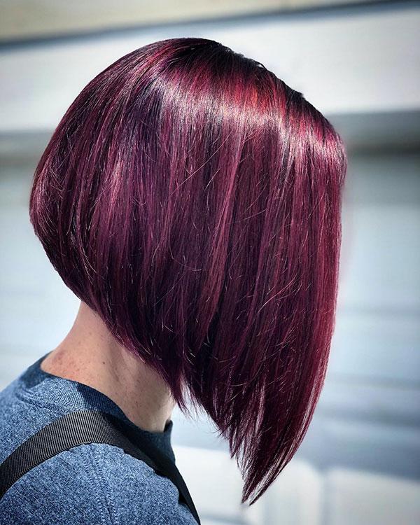 cut hair bob style