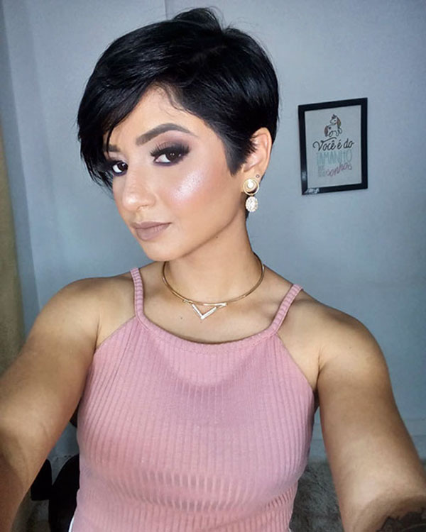 elegant short hairstyles