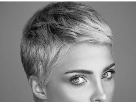 female pixie cut