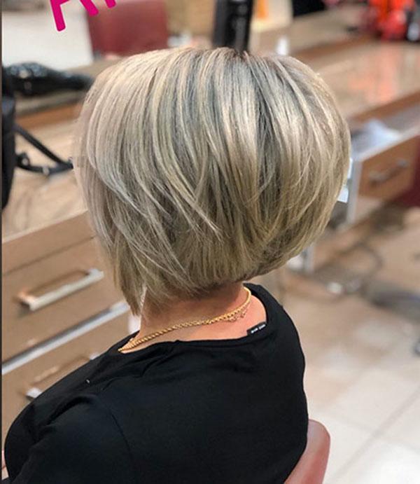 ladies bob hair cut