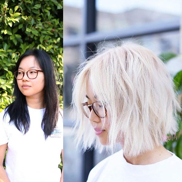 ladies short hair styles 2021