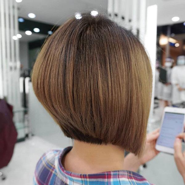 short bob hair cuts for women