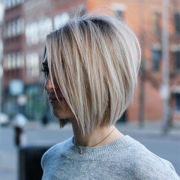 short bob hairstyles 2021 female