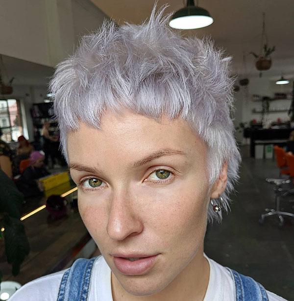 short hair 2021 female