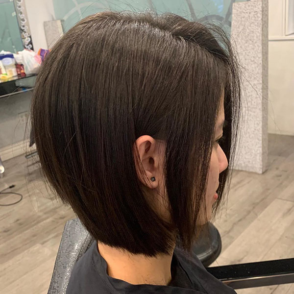 short hair bob women