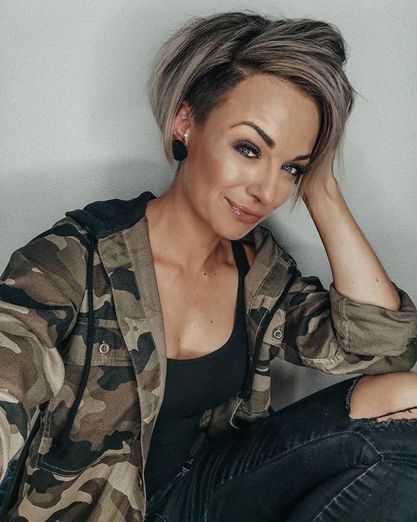 short hair styles 2021 hair trends female