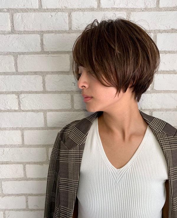 short haircut design