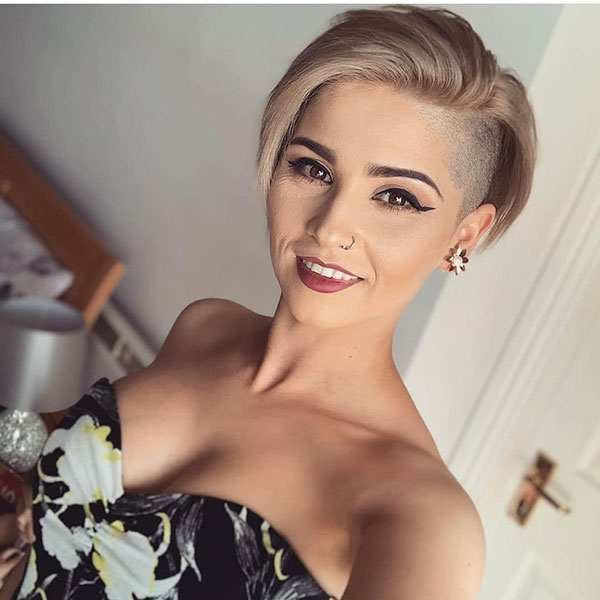 short woman hair style