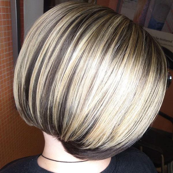 trendy bob cut