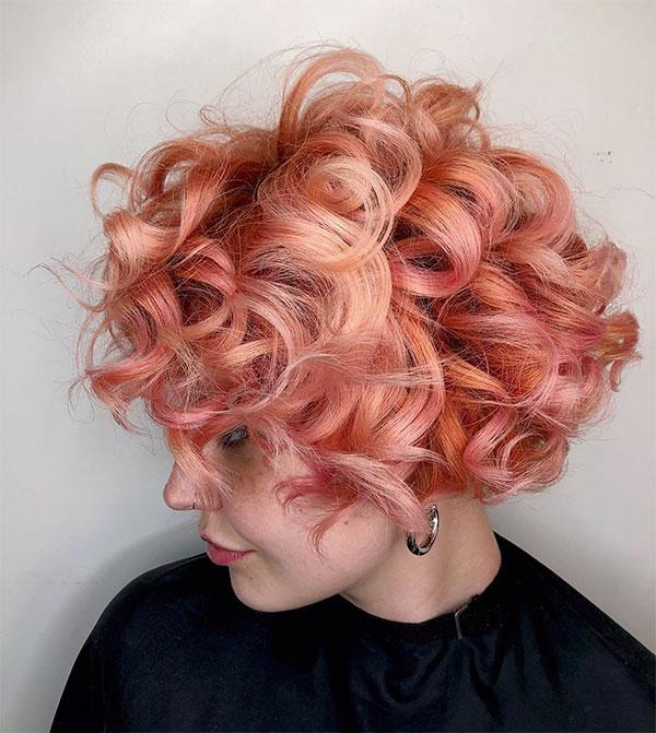 curly haircuts female