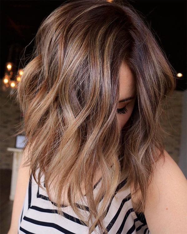 cute wavy haircuts