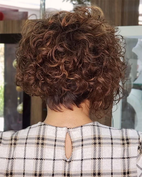 hair cuts for short curly hair