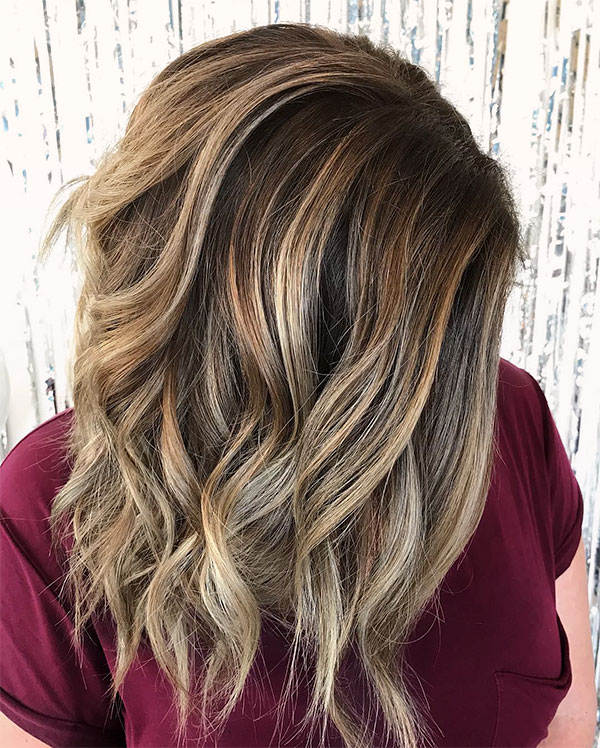 hair styles wavy hair