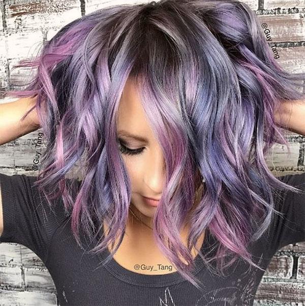 latest wavy hairstyles