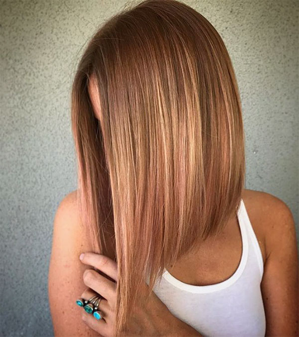 new straight hairstyles