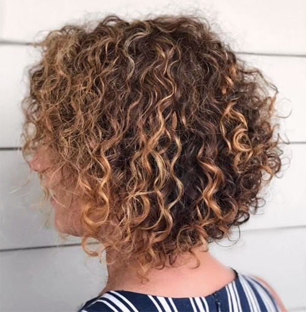 short cut hairstyles for curly hair